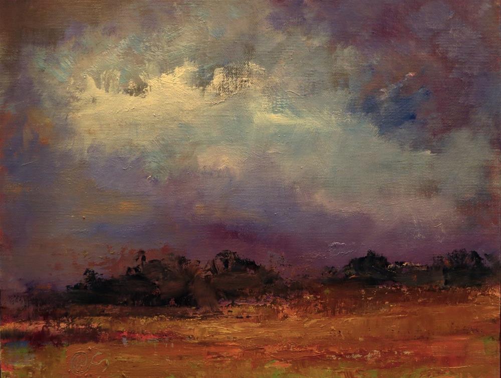 """Edge of the Gloaming"" original fine art by Aurelio Saiz"