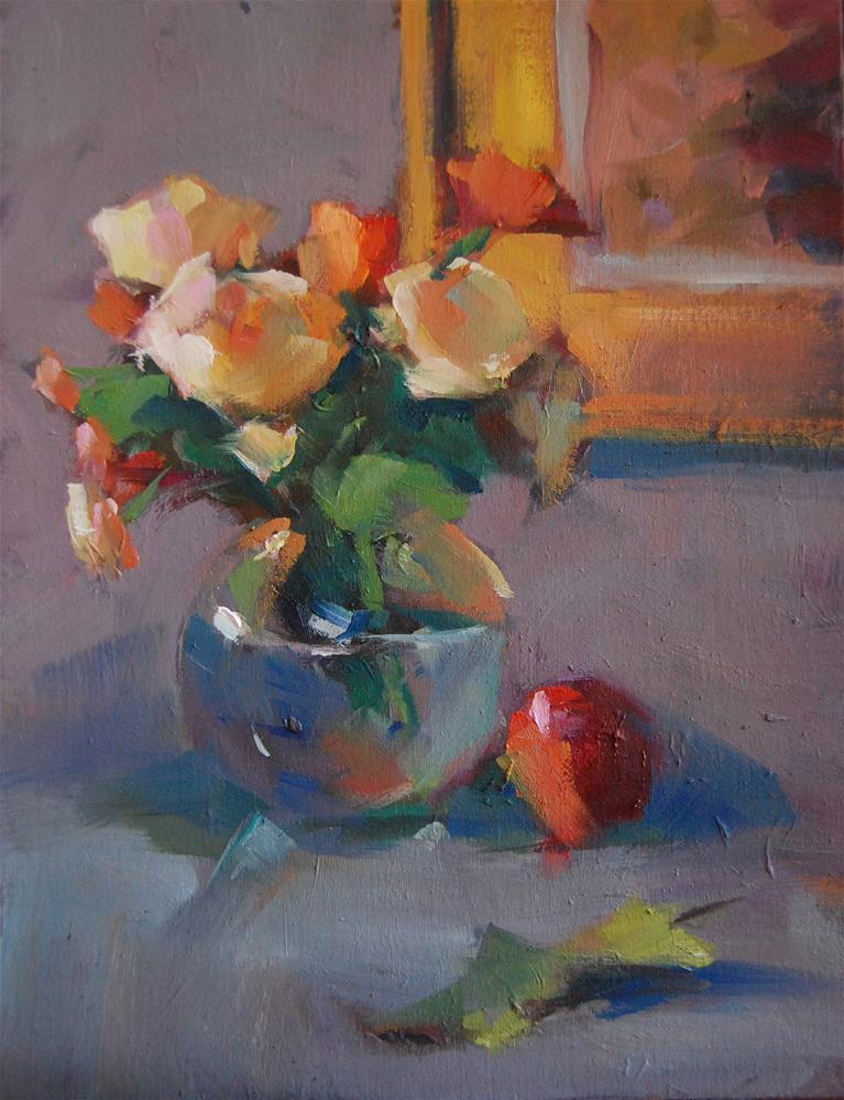 """Floral Study"" original fine art by Margaret Dyer"