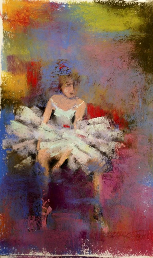 """Waiting to Dance"" original fine art by Bonnie Griffith"