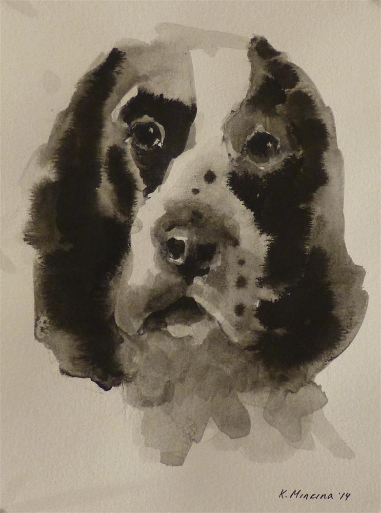 """adopt53"" original fine art by Katya Minkina"