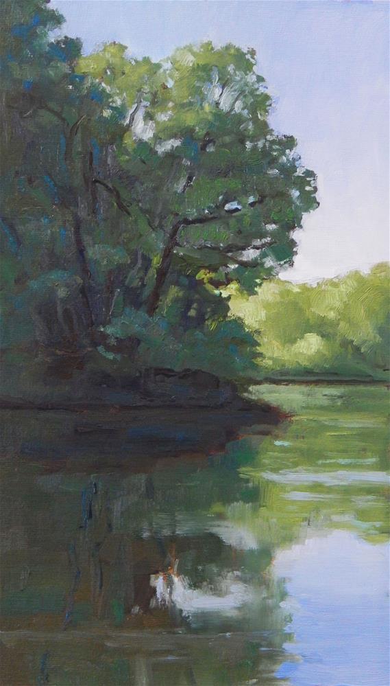 """Morning Glow"" original fine art by Lisa Kyle"