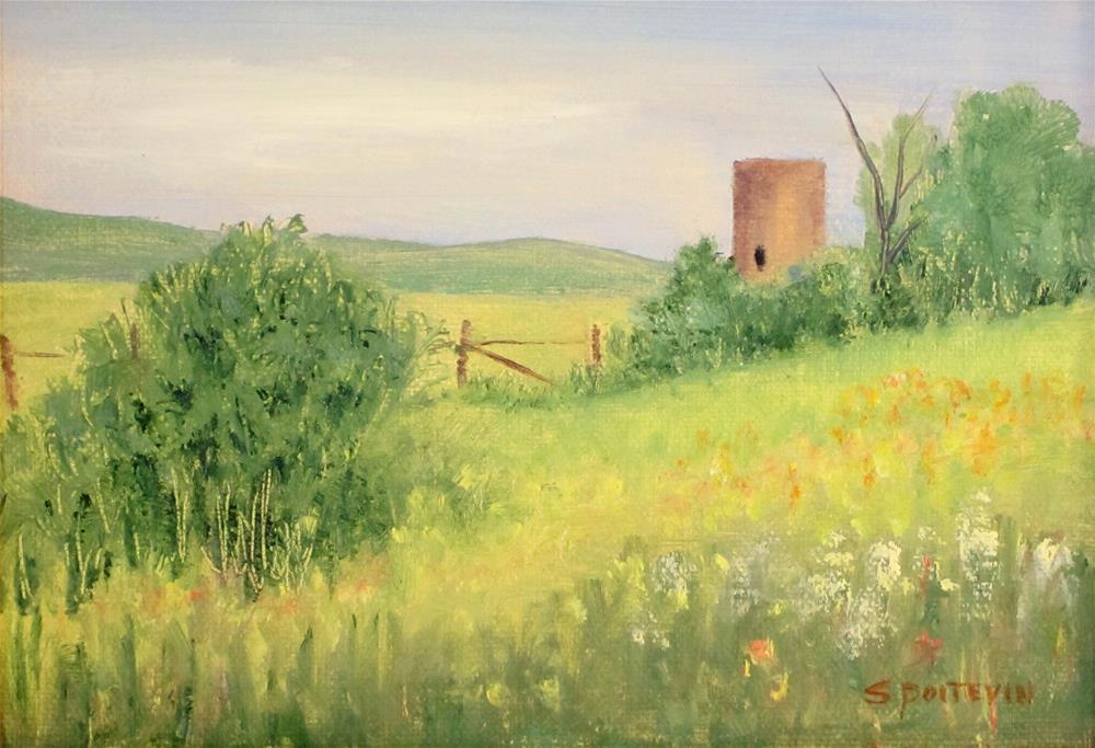 """""""Summer Bliss"""" original fine art by Susan Poitevin"""