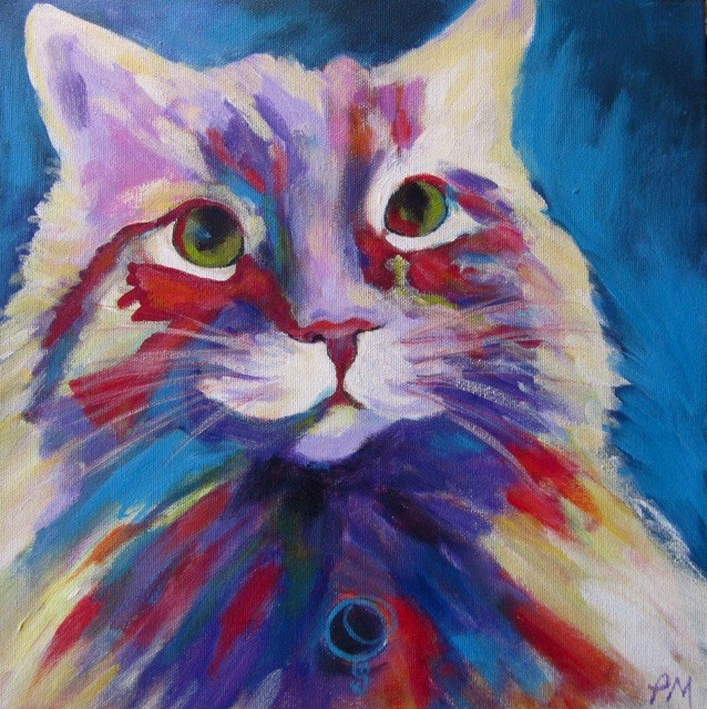 """Otis II"" original fine art by Patricia MacDonald"