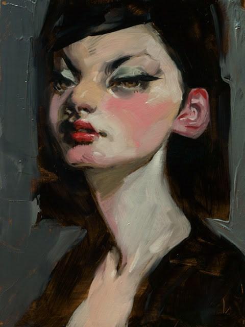 """Fiction"" original fine art by John Larriva"