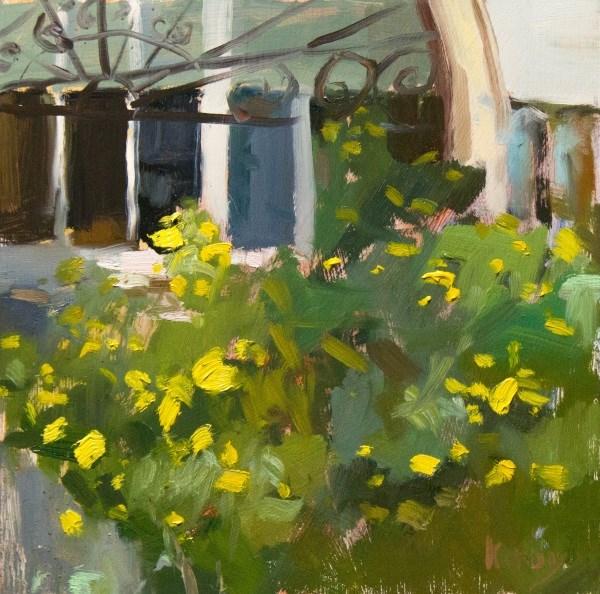"""Flores de Esperanza, Flowers of Hope"" original fine art by Randall Cogburn"