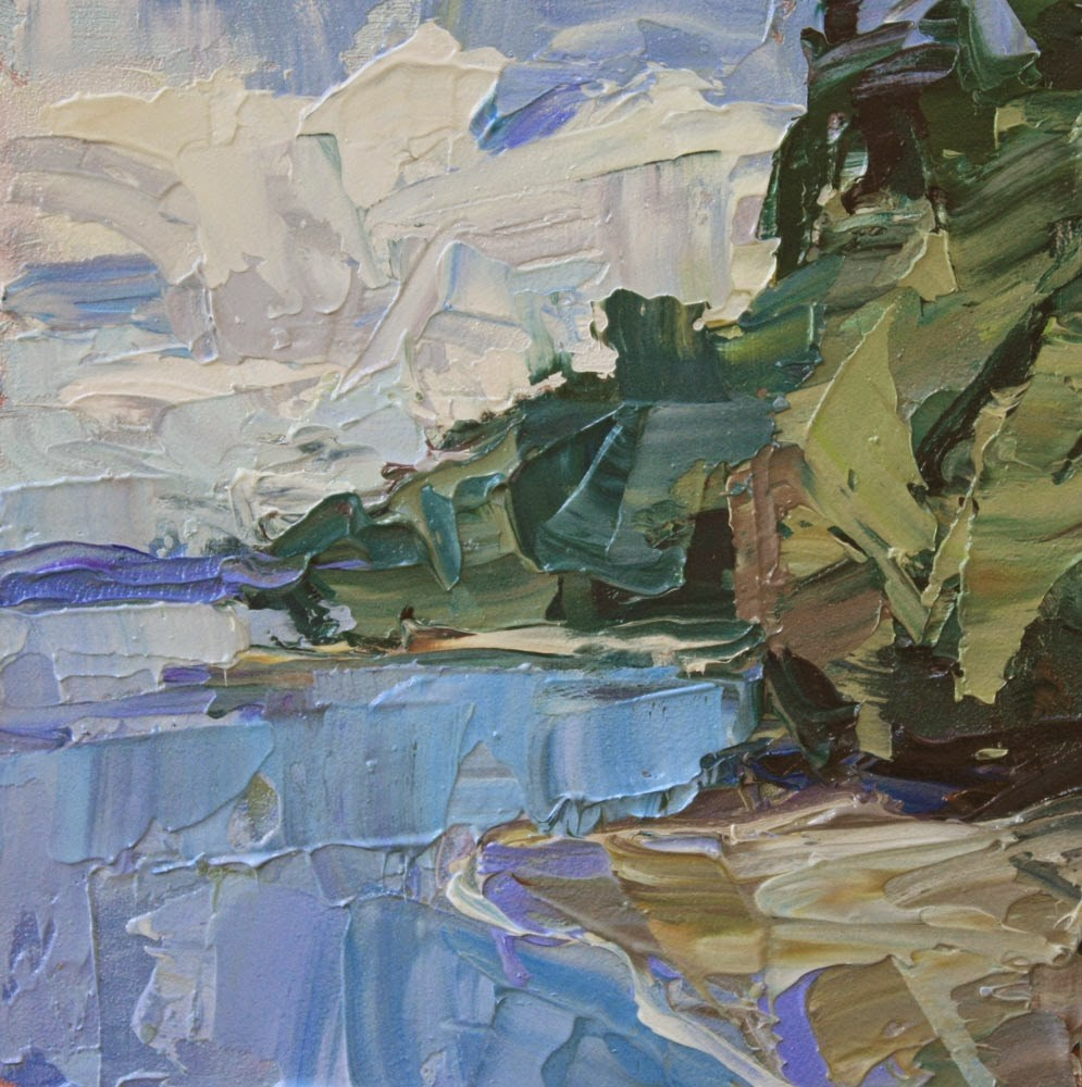 """Zangle Cove"" original fine art by Kathryn Townsend"