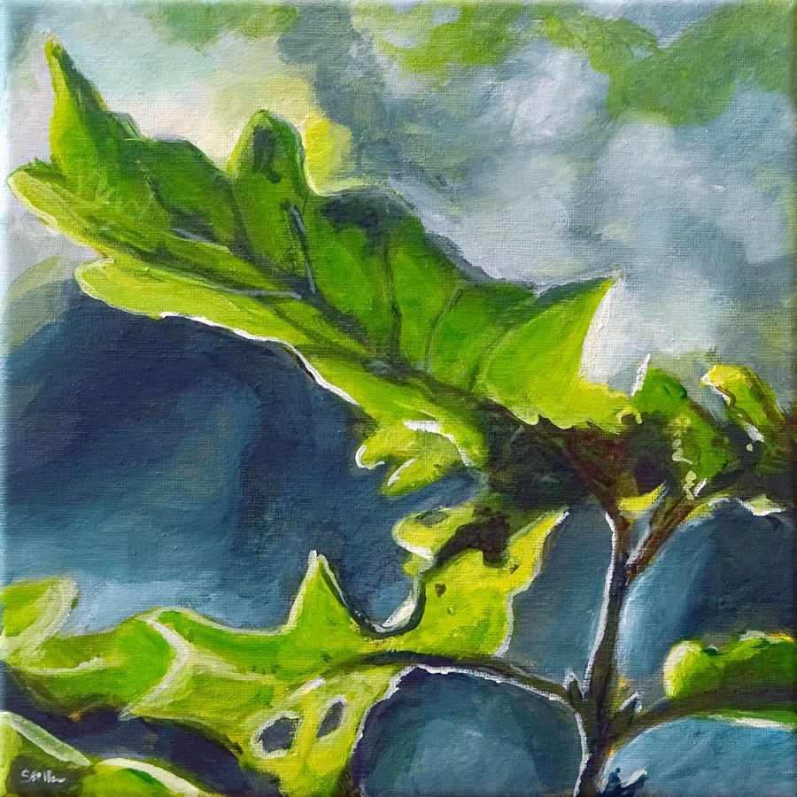 """1165 Quercus Robur"" original fine art by Dietmar Stiller"
