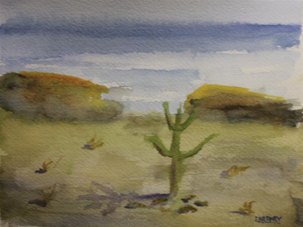 """""""Desert"""" original fine art by Daniel Varney"""