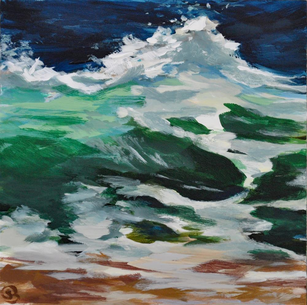 """Salt Water Cures Everything"" original fine art by Shari Buelt"