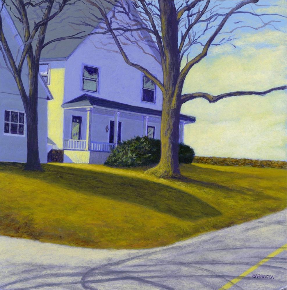 Grandma's Farmhouse original fine art by Sal Barracca