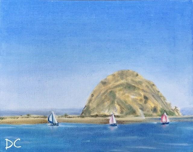 """Smooth Sailing"" original fine art by Diana Chang"