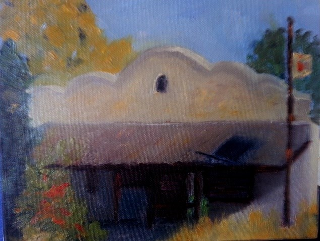 """Closed, but not forgotten"" original fine art by Pamela Wedemeyer"