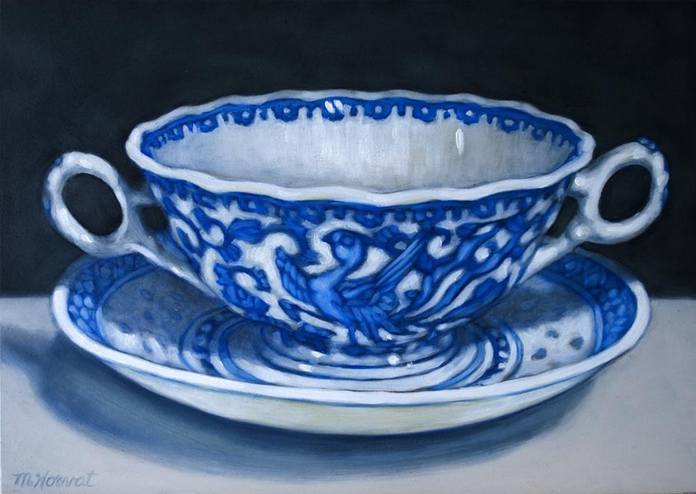 """Soup Bowl"" original fine art by Margaret Horvat"