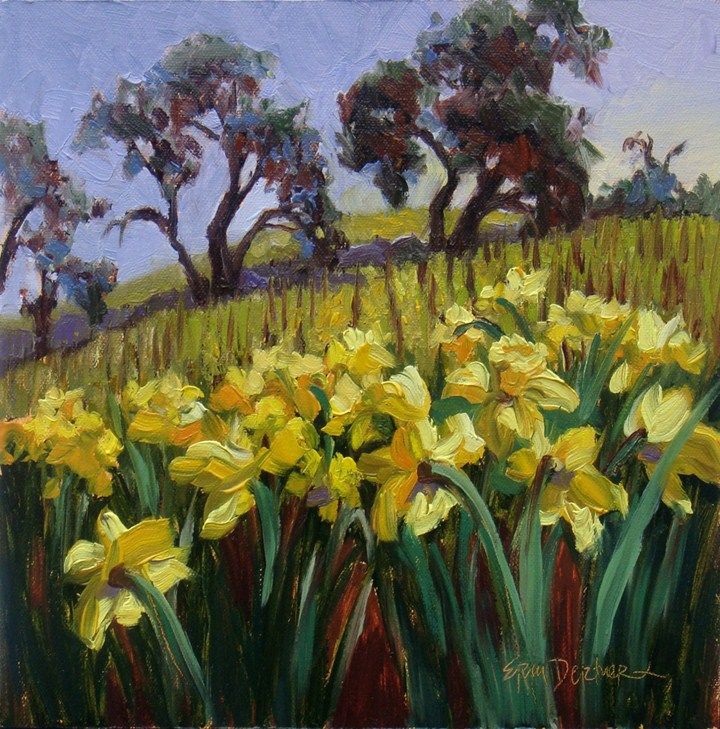 """Spring Fever"" original fine art by Erin Dertner"