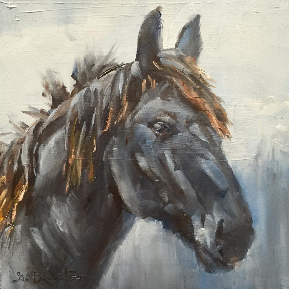 """Equine Beauty"" original fine art by Gary Bruton"