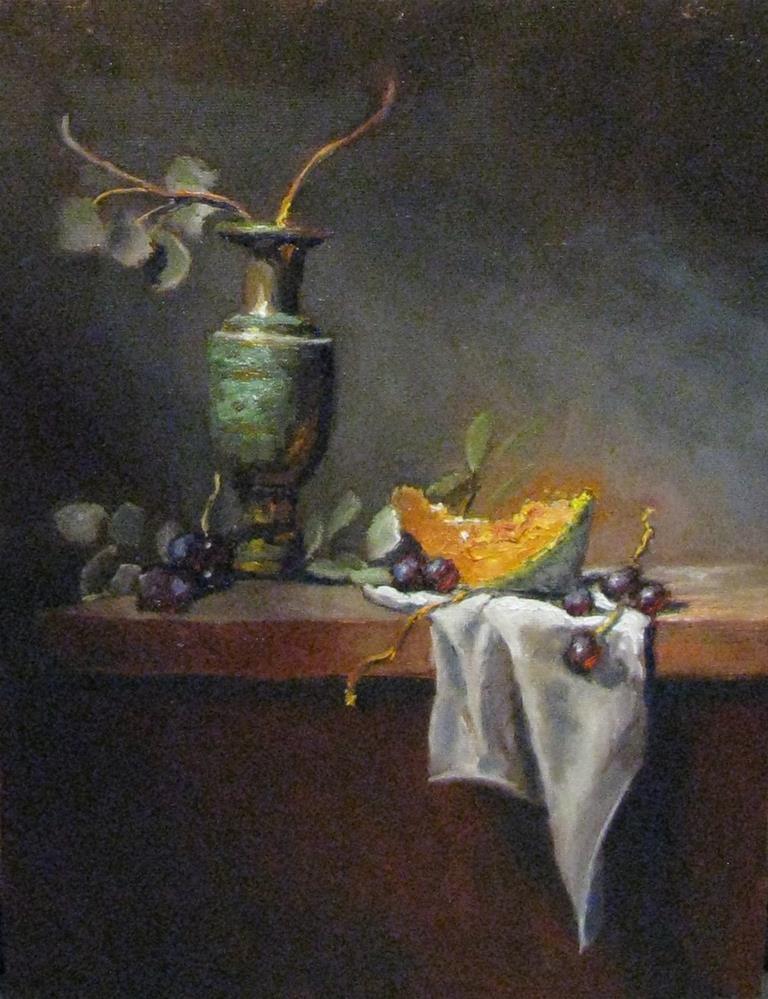 """Spray of light"" original fine art by tom dawson"