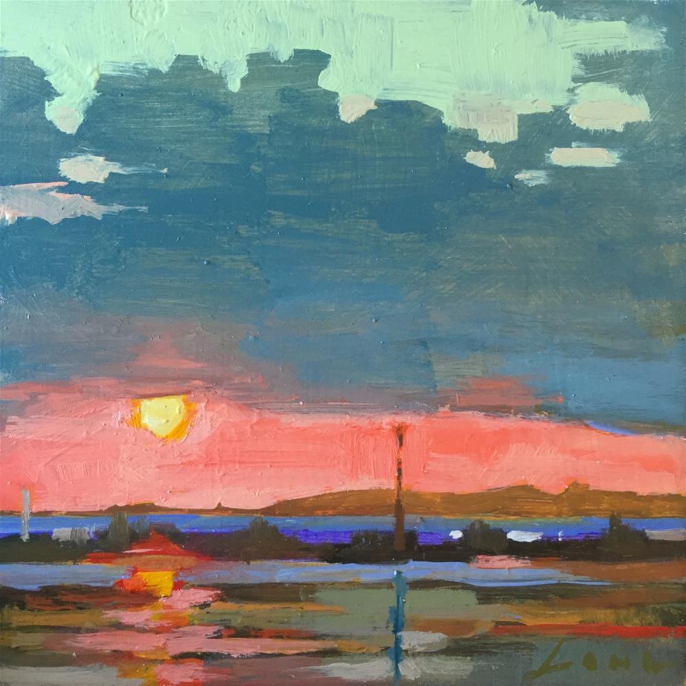 """""""Cloud Composition #4"""" original fine art by Chris Long"""