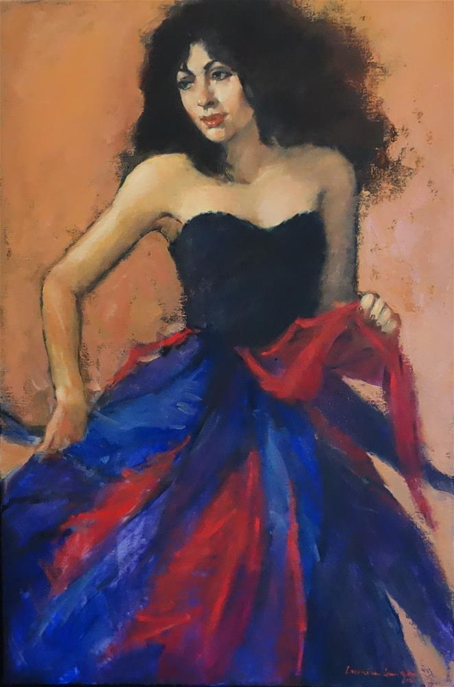 """Celebrating"" original fine art by Lorraine Lewitzka"