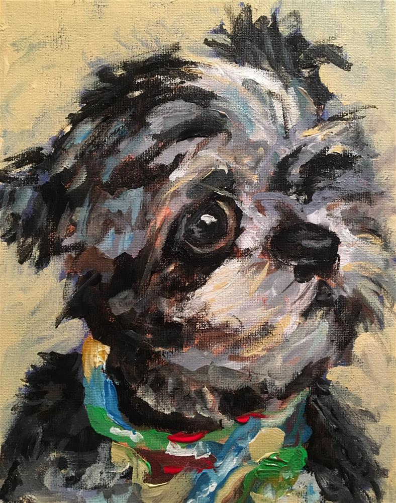 """Gabe"" original fine art by Susan Elizabeth Jones"