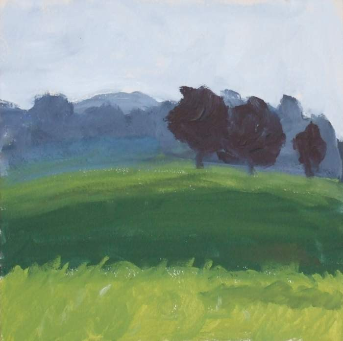 """Early Morning Plein Air"" original fine art by Meredith Adler"