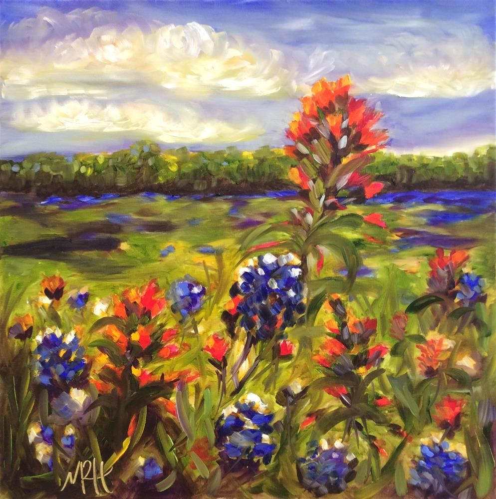 """The Meadows"" original fine art by Molly Rohrscheib Hathaway"