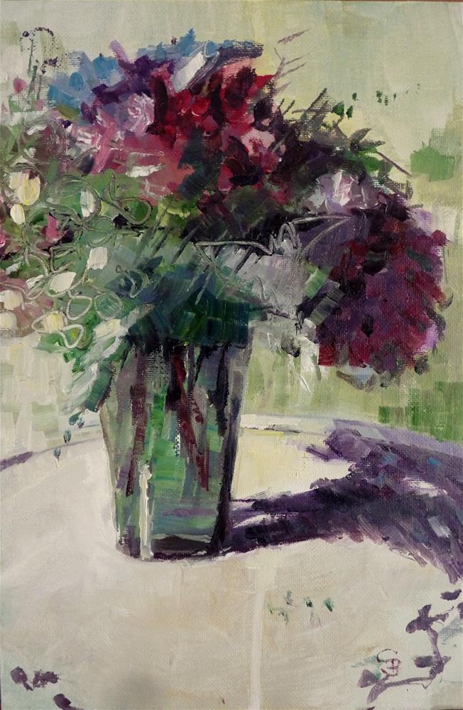 """Bouquet No2"" original fine art by Claudia Brandt"