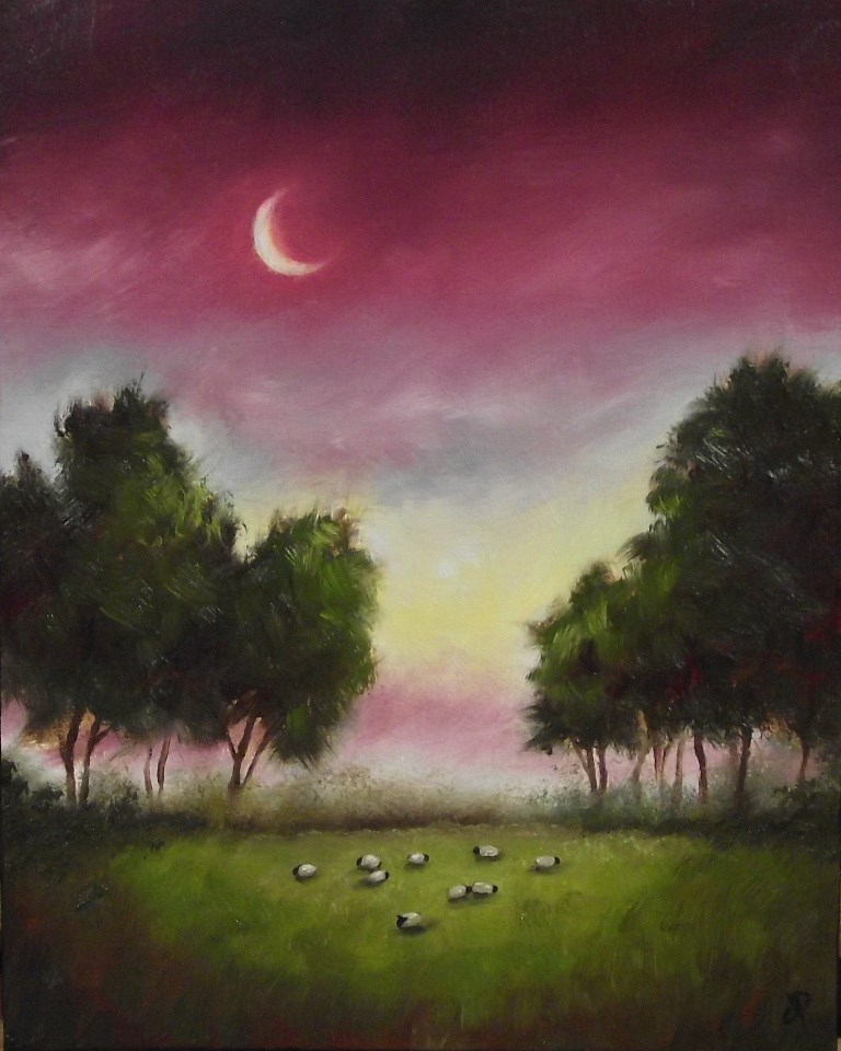 """Shepherds Delight"" original fine art by Jane Palmer"