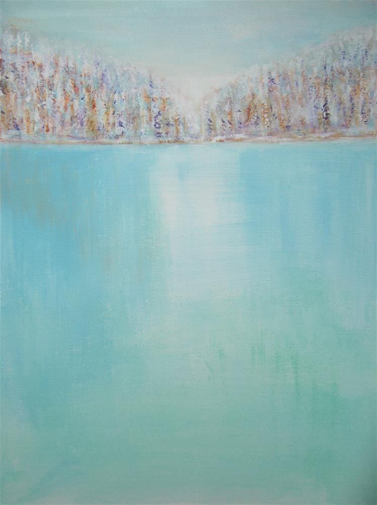 """Frost"" original fine art by Alina Frent"