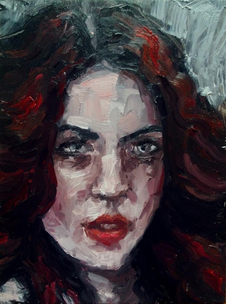 """Counterblow"" original fine art by Aleksandra Uzarek"