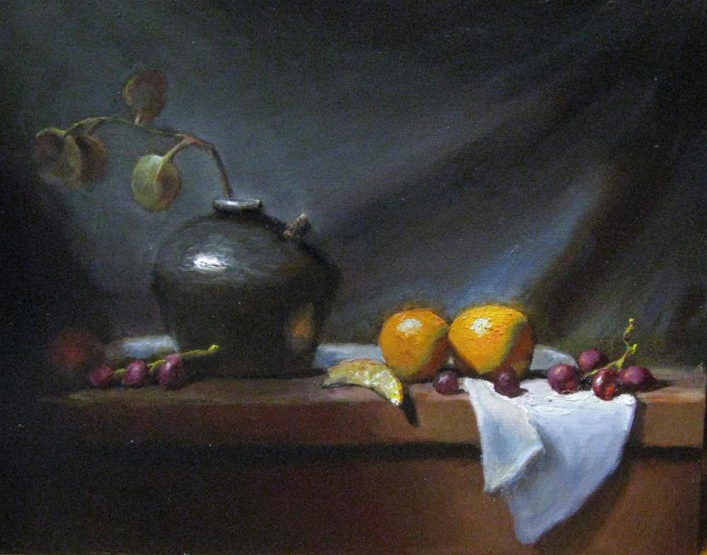 """""""Morning work out"""" original fine art by tom dawson"""