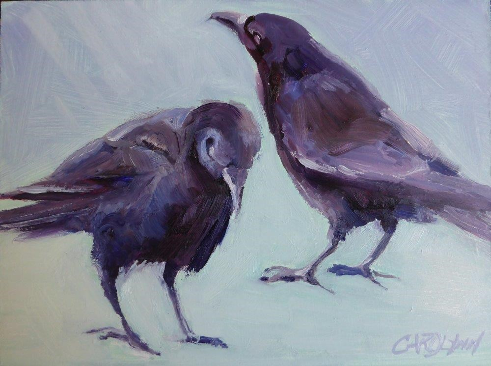 """Mates For Life II"" original fine art by Carolynn Doan"