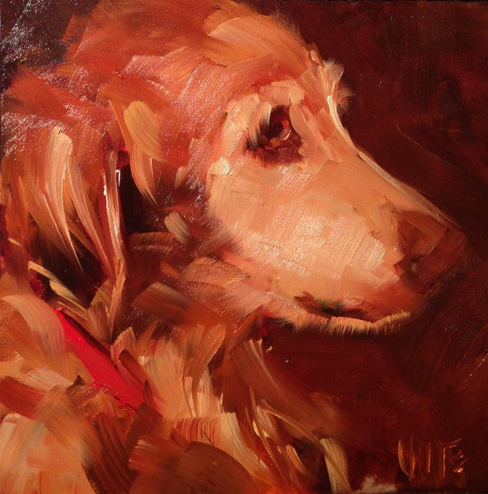 """#234 Old Friend"" original fine art by Patty Voje"