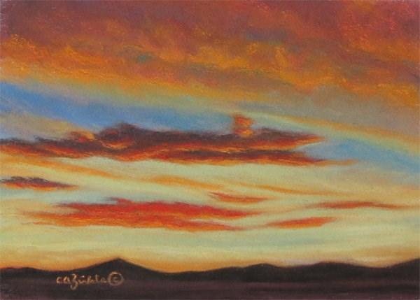 """Gilded"" original fine art by Carol Zirkle"