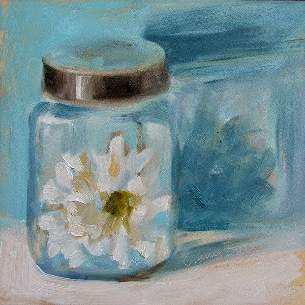 """All Bottled Up - 311"" original fine art by Laura  Buxo"