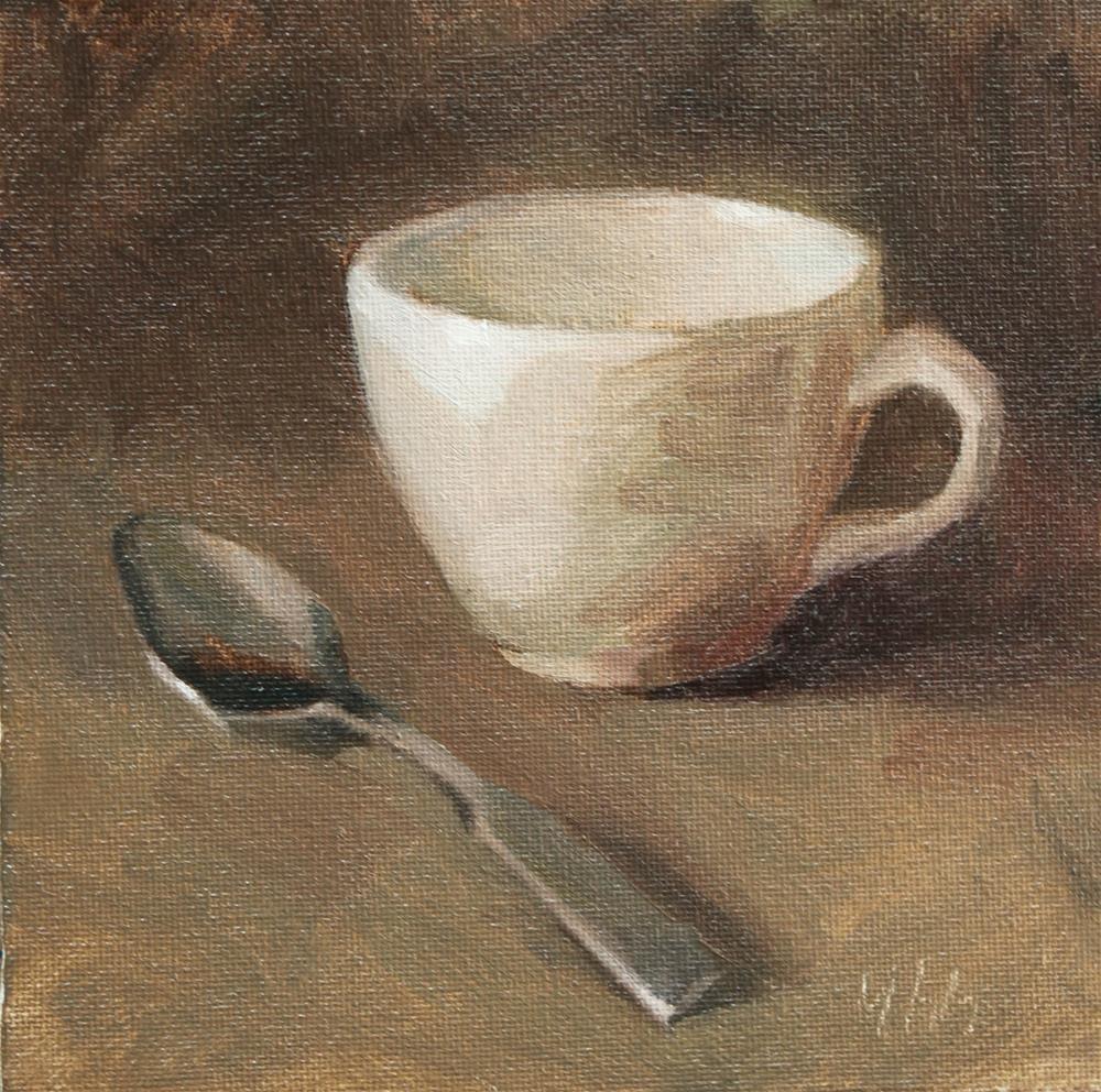 """""""cup"""" original fine art by Yuehua He"""