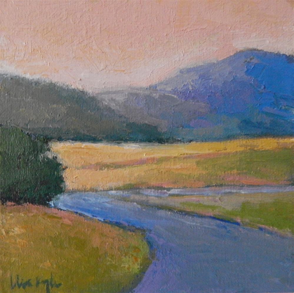 """A Bend in the Road"" original fine art by Lisa Kyle"