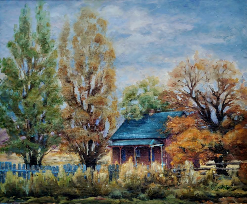 """Left Alone"" original fine art by Catherine Crookston"