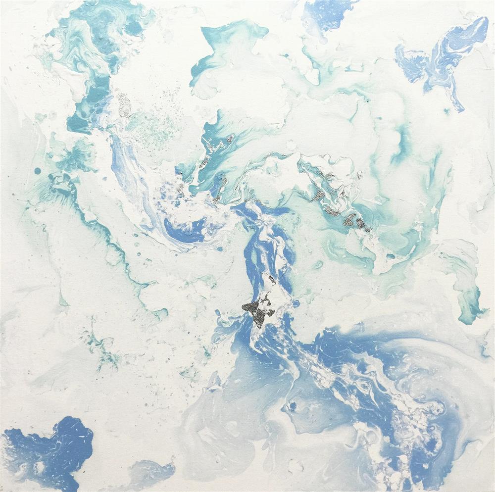 """Abstract #220"" original fine art by Sunny Avocado"