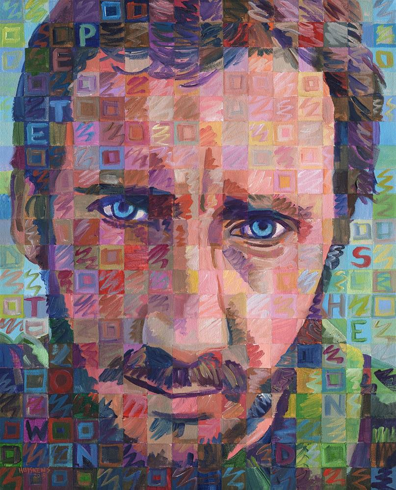 """Pete Townshend"" original fine art by Randal Huiskens"