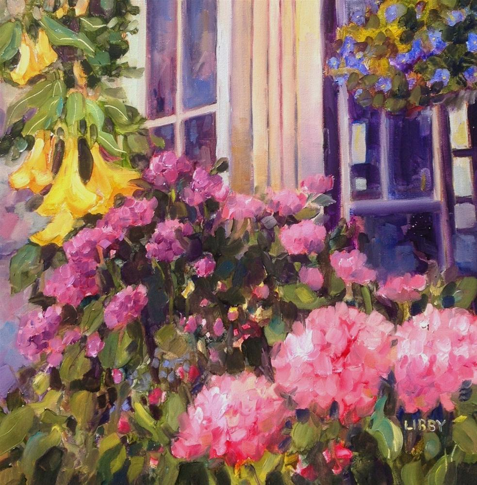 """conservatory"" original fine art by Libby Anderson"