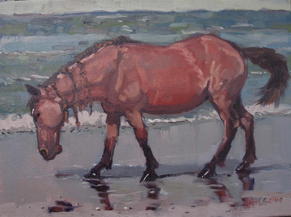 """Dreads"" original fine art by Rick Nilson"
