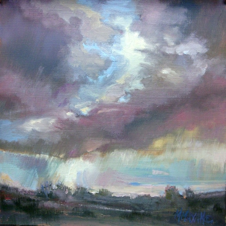 """Breakthrough"" original fine art by Mary Maxam"