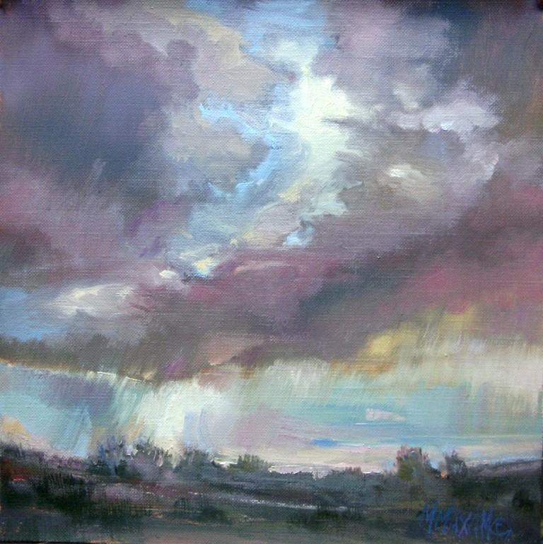 """Breakthrough"" original fine art by Mary Maxam"