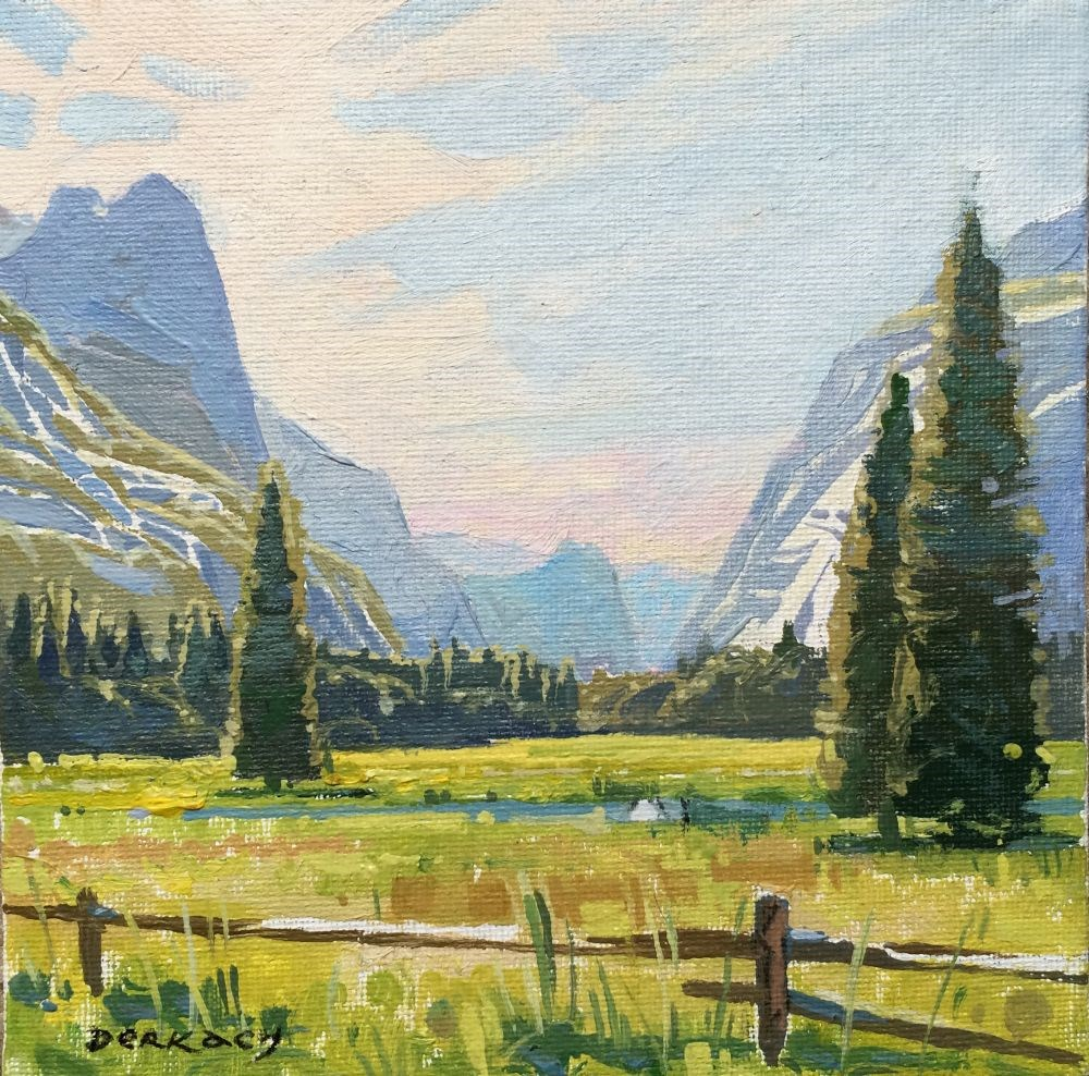 """Yosemite Valley light"" original fine art by vladimir derkach"