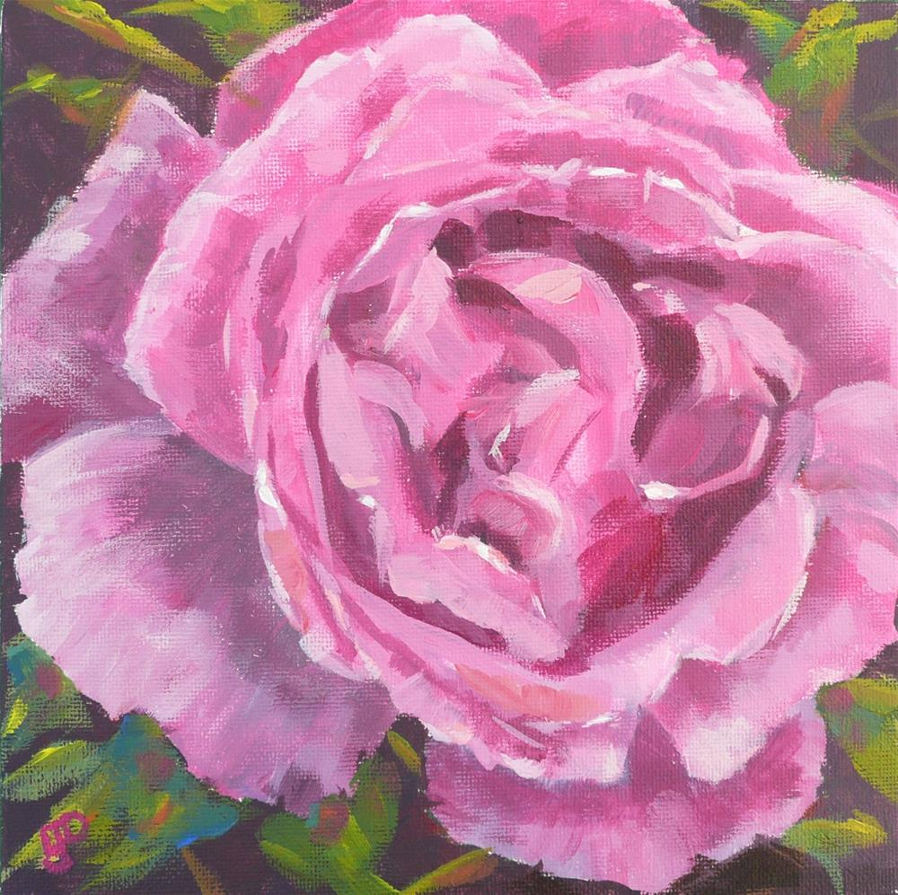 """Shades Of Magenta"" original fine art by Leanne Owen"