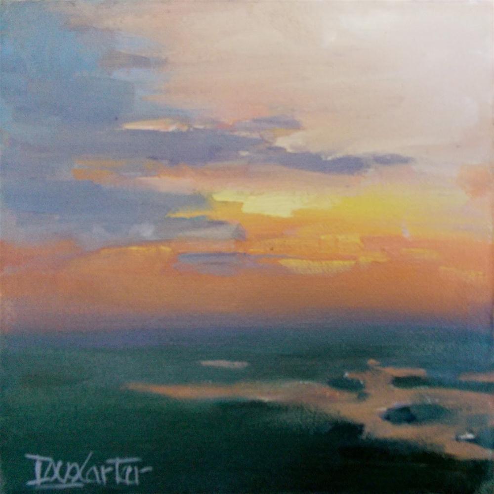 """"""" HIGH SKY '"""" original fine art by Doug Carter"""