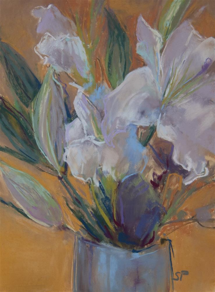 """Irises"" original fine art by Sarah Peroutka"