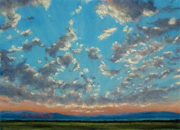"""Popped"" original fine art by Carol Zirkle"