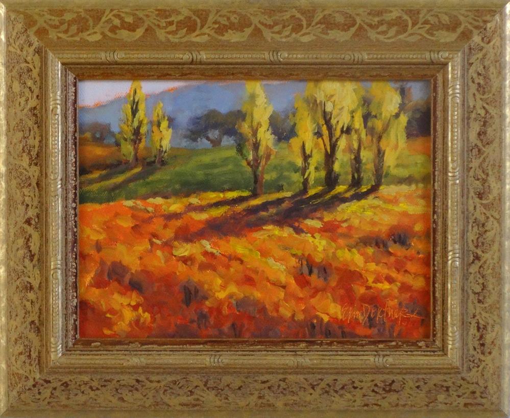 """""""Bands of Fall Color"""" original fine art by Erin Dertner"""