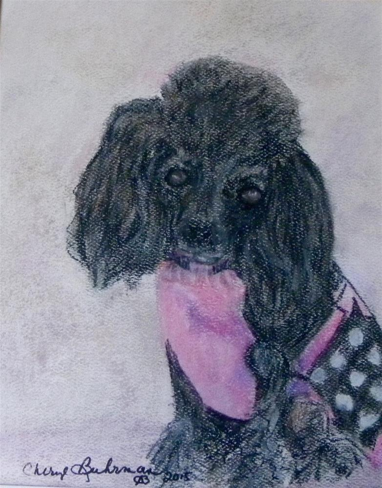 """Abby"" original fine art by cheryl buhrman"
